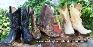 Selection of PreOwned Cowboy Boots
