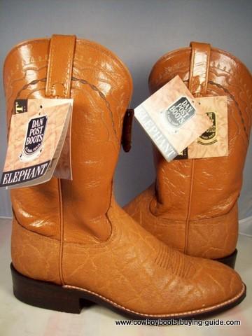Dan Post Elephant Cowboy Boot