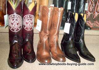 Boots Variety with Texas A and M