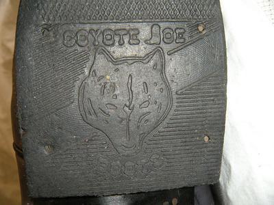Original heel, not very worn at all!