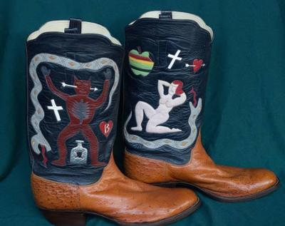 Unique Rusty Franklin Boots