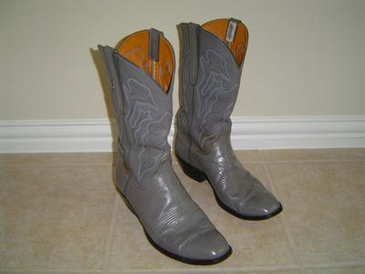 Vintage mens Garner Moss Cowboy Boots FOR SALE
