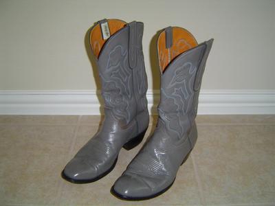 Vintage Mens Garner Moss Cowboy Boots For Sale
