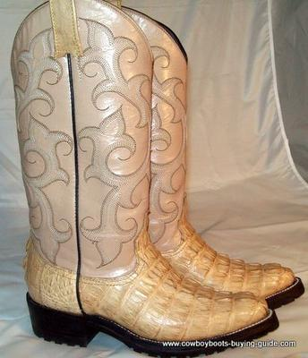 Women's Alligator Cowboy Boots for Sale Size 5 B