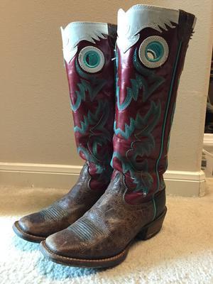 Womens Ariat Buckaroo Boots