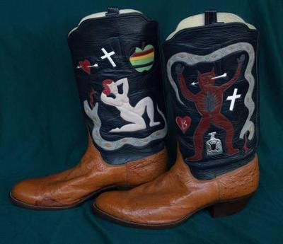 Unique Rusty Franklin Boots2